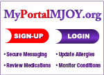 Sign up or Log in for the Marianjoy Patient Portal